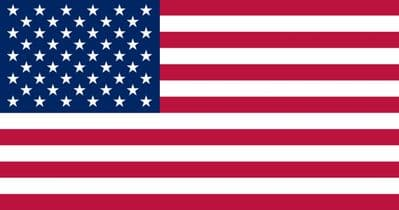 USA (UNITED STATES OF AMERICA) NYLON DELUXE QUALITY - 5 X 3 FLAG