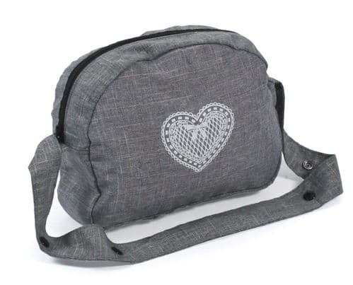 Bayer Chic 2000 - Dolls Pram Bag - Grey Jeans