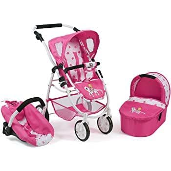 Bayer chic emotion 3 in 1 dolls pram