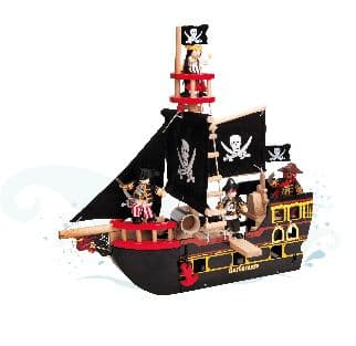 Le Toy Van Barbarossa Pirate Ship TV 246