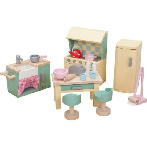 Le Toy Van Daisy Lane Wooden Dolls House Furniture - Kitchen ME059