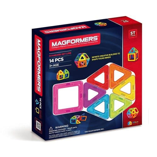 Magformers 14 pieces Basic Line Set