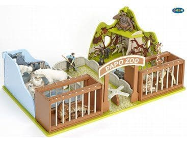 Papo The Zoo Wooden playset 60107
