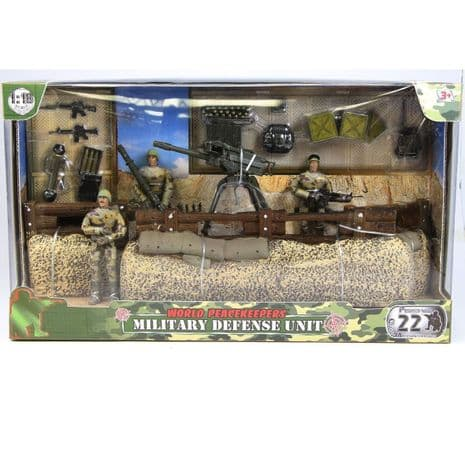 World Peacekeepers Military Defence Unit Playset