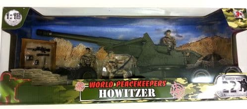 World Peacekeepers Military Howitzer Vehicle