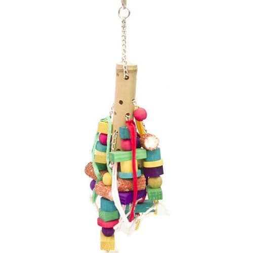 Bamboo Parrot Toy
