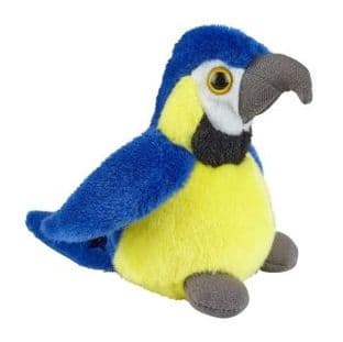 Blue & Gold Macaw Soft Toy