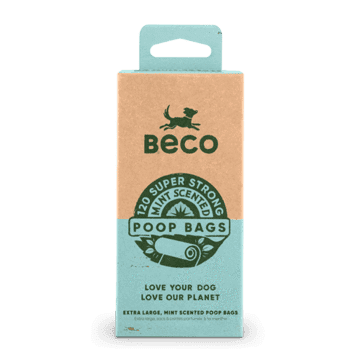 Large Poop Bags   Mint Scented   120