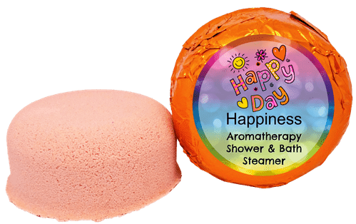 Happiness Aromatherapy Shower & Bath Steamer VEGAN