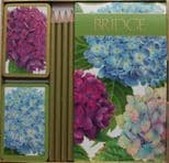 Hydrangea Garden Bridge Set