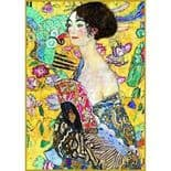 Klimt the Lady with Fan