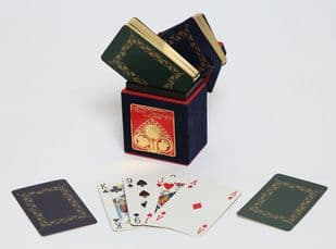 gilt edged|playing cards |luxury