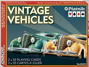 Vintage  vehicles Cards