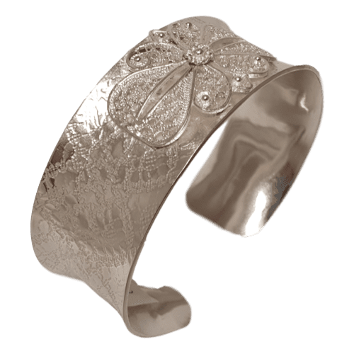 25mm Lace Filigree Cuff