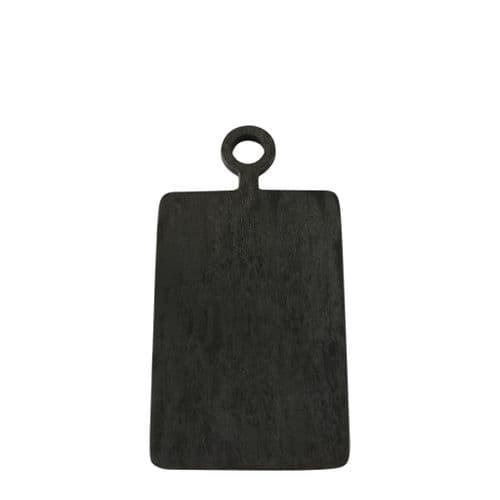 Brushed Black Mango Wood - Rectangular Board