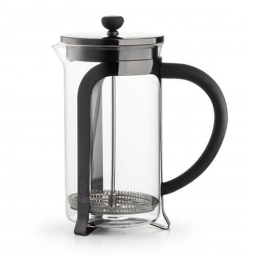 Coffee Maker -1L - Shiny Black or Silver