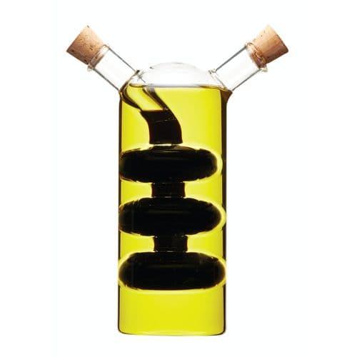 Dual Oil & Vinegar Cruet Bottle