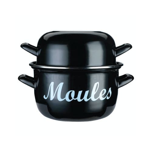 Enamelled Mussels Pot