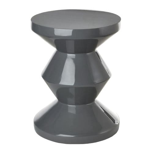 Lacquered Stool / Side Table - Various Colours Available