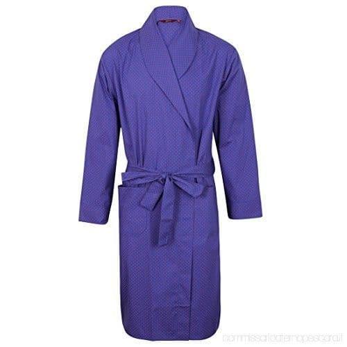 Luxury Men's Nightwear - Dotted Dressing Gown
