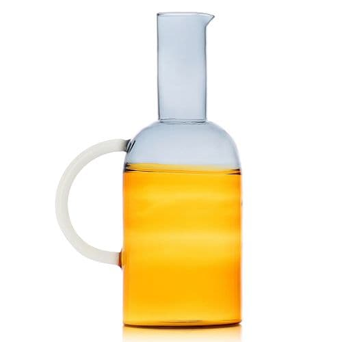 Milanese Glass - Duo-Tone Jug - Various Colours