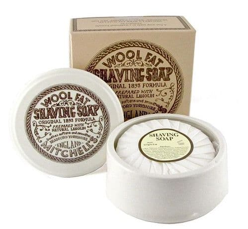 Mitchell's - Wool Fat Shaving Soap - 125 g