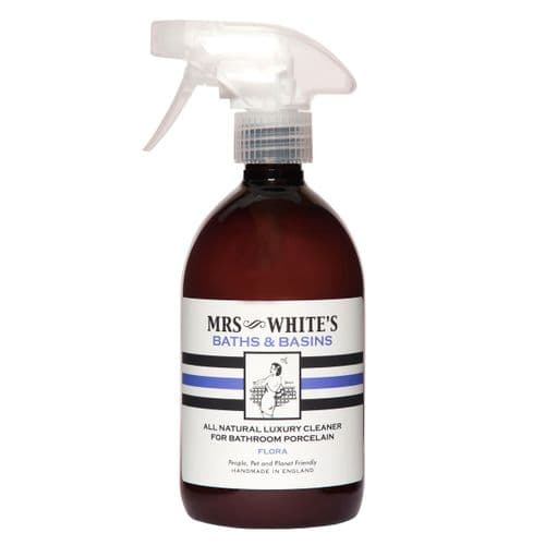 Mrs White's - Baths & Basins (Bathroom Cleaner) 500ml