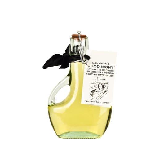 Mrs White's - Good Night -  Luxurious Organic Bedtime Bath Elixir 200ml