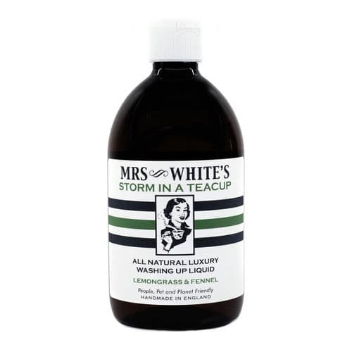 Mrs White's - Storm in a Teacup (Washing Up Liquid) 500ml