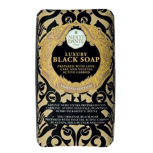 Nesti Dante Soap - Luxury Black Soap
