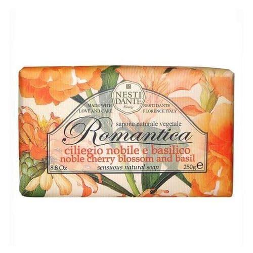 Nesti Dante Soap - Romantica - Noble Cherry Blossom and Basil Soap