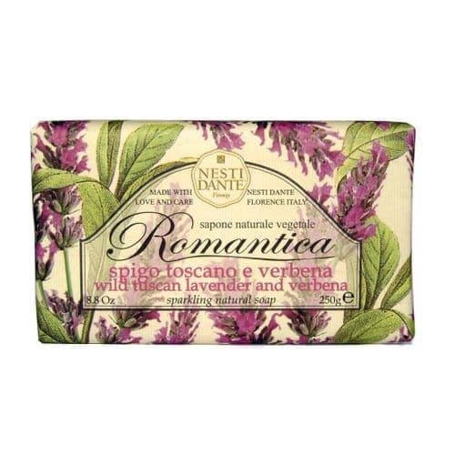 Nesti Dante Soap - Wild Tuscan Lavender and Verbena - Romantica