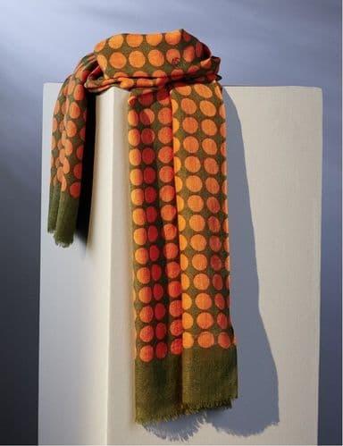 Parisian Summer Scarf - Wool - Spots