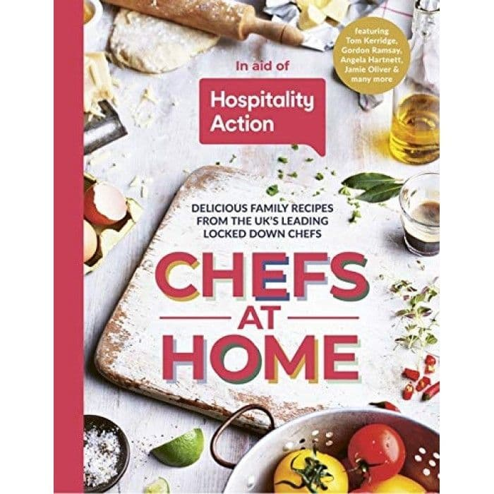 Recipe Book - Chefs At Home By Hospitality Action
