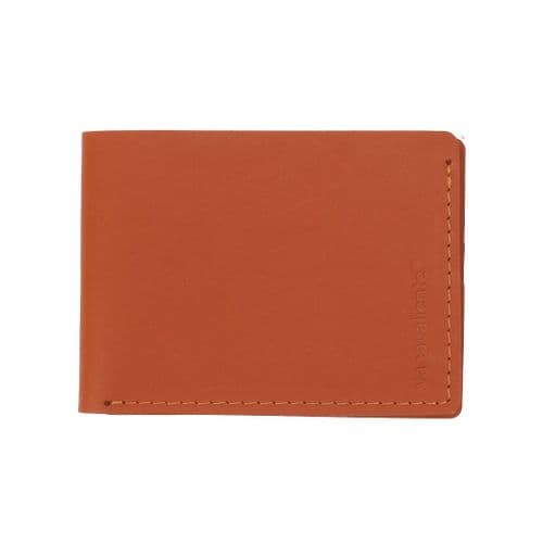 Recycled Leather -  Timeless Wallet - Tan