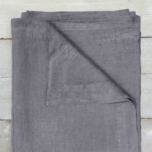 Washed Linen - Tablecloth - Blush, Blue or Grey