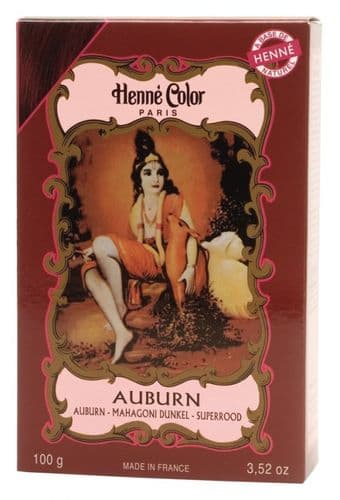 Auburn Henne Natural Henna Hair Dye Powder