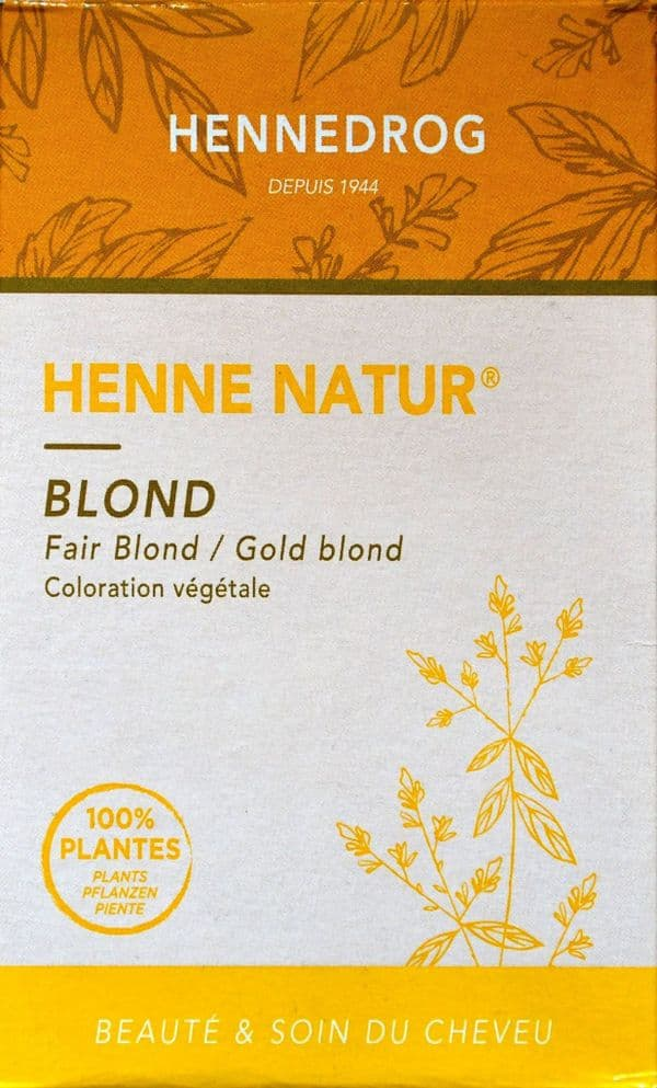 Gold Blonde Henne Henna Hair Dye | World's End Natural Products