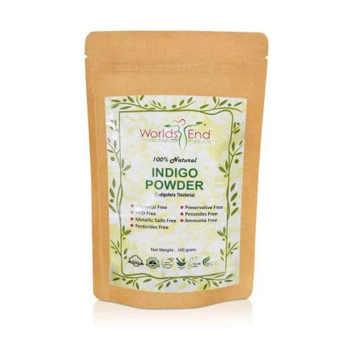 Natural Pure Indigo Hair Dye Powder 100g