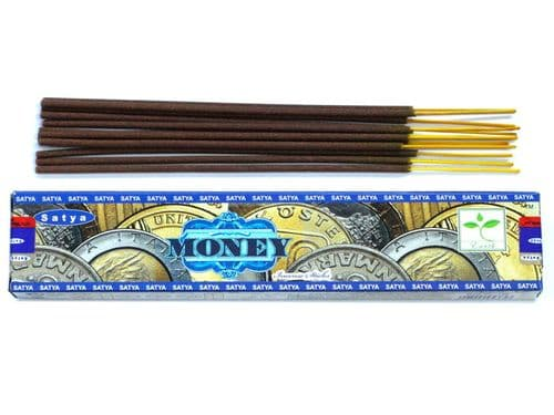 Satya Money Incense Sticks 15g