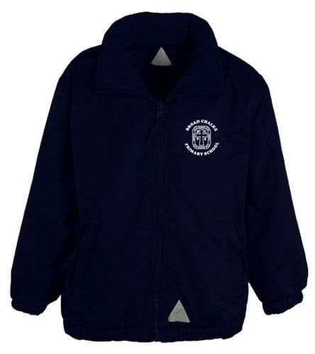 Broad Chalke Primary School Navy Reversible Fleece Jacket