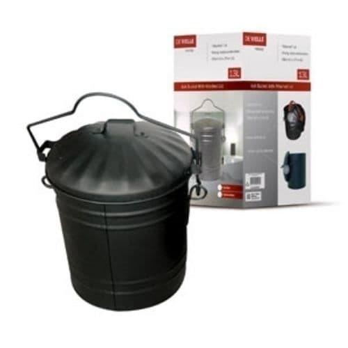 Ash bucket with lid DEV001