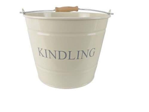 Manor Kindling Bucket (Large Cream) - 1630348
