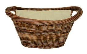Oval Wicker basket DEV591