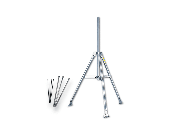 7716A Mounting Tripod With Lag Bolts
