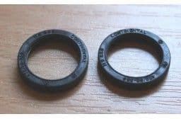 Taigen 2 spare rubber tyres for Panzer III metal roadwheels