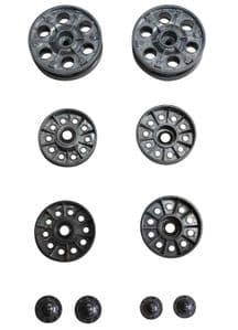 Taigen metal sprocket and idler wheels for Heng Long T34