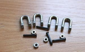 Taigen metal tow shackles for Heng Long King Tiger