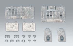Taigen set of metal hatches for Heng Long Panzer IV