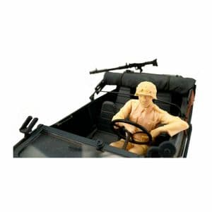 Torro Schwimmwagen driver figure 1/16 scale resin model kit